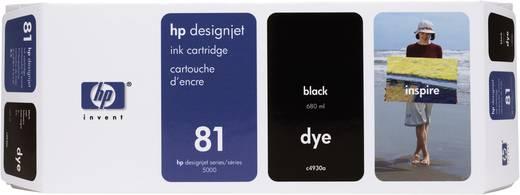 HP Tintenpatrone 81 Schwarz C4930A