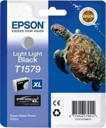 Epson Tinte T1579 Original Light Light Schwarz C13T15794010