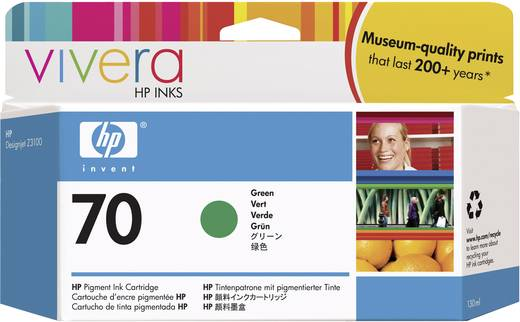 HP Tinte 70 Original Grün C9457A