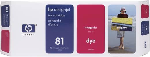 HP Tintenpatrone 81 Magenta C4932A