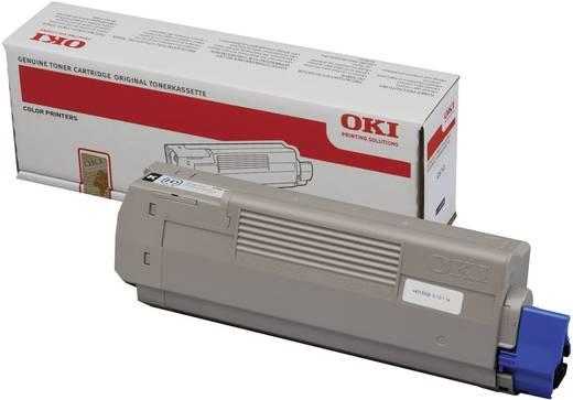 OKI Toner C610 44315308 Original Schwarz 8000 Seiten