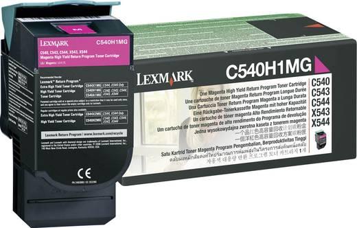 Lexmark Toner C540H1 C540H1MG Original Magenta 2000 Seiten