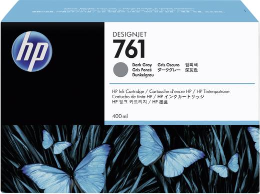 HP Tinte 761 Original Dunkelgrau CM996A