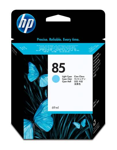 HP Tinte 85 Original Hell Cyan C9428A