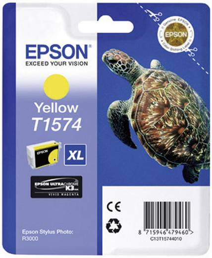 Epson Tinte T1574 Original Gelb C13T15744010