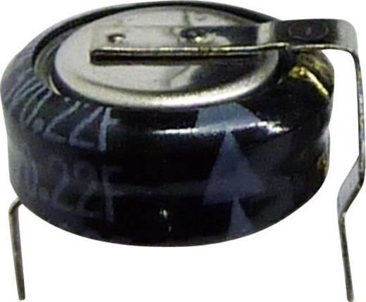 Gold-Cap Kondensator 0.22 F 5.5 V 30 % (Ø x H) 10.5 mm x 6 mm Panasonic EECS0HD224H 1 St.