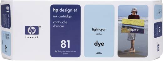 HP Tintenpatrone 81 Hell Cyan C4934A