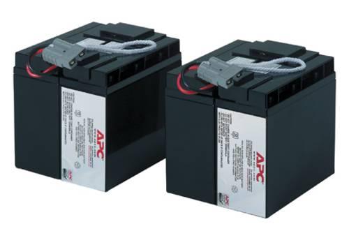 USV-Anlagen-Akku APC by Schneider Electric ersetzt Original-Akku RBC55 Passend für Modell SMT2200I, SMT3000I, SUA2200I,