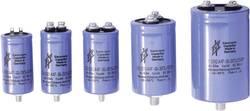 Kondenzátor elektrolytický F & T GMB47210040070, 4700 µF, 100 V, 20 %, 70 x 40 mm