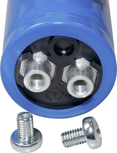 Elektrolyt-Kondensator Schraubanschluss 10000 µF 63 V 20 % (Ø x H) 35 mm x 70 mm FTCAP GMB10306335070 1 St.