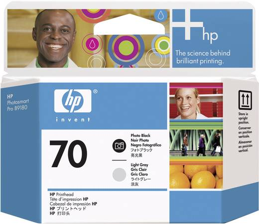 HP Druckkopf 70 Original Foto Schwarz, Hell Grau C9407A