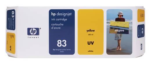 HP Tintenpatrone 83 Gelb C4943A