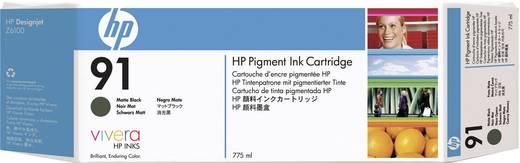 HP Tinte 91 Original Matt Schwarz C9464A