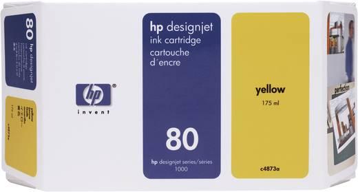 HP Tinte 80 Original Gelb C4873A