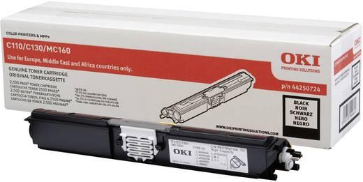 OKI Toner C110 C130 MC160 44250724 Original Schwarz 2500 Seiten