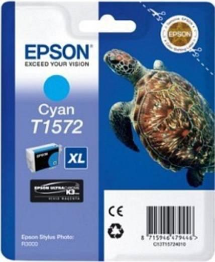 Epson Tinte T1572 Original Cyan C13T15724010