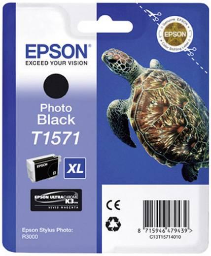 Epson Tinte T1571 Original Photo Schwarz C13T15714010
