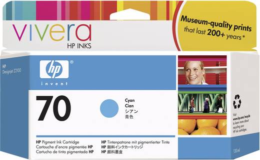 HP Tinte 70 Original Cyan C9452A