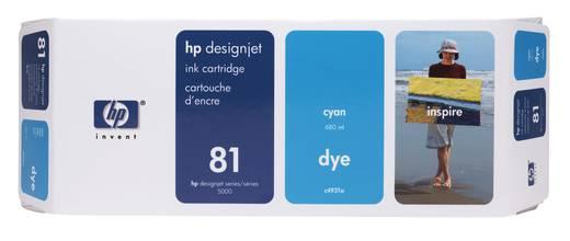 HP Tintenpatrone 81 Cyan C4931A