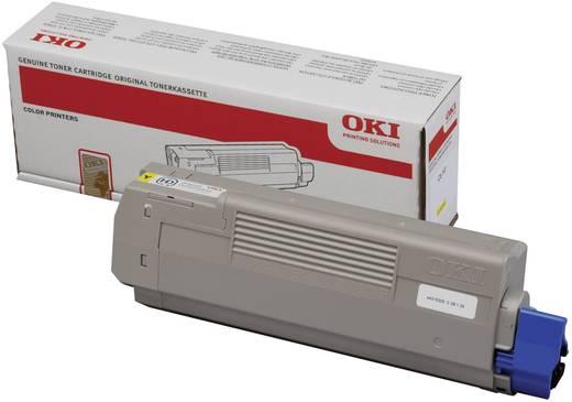 OKI Toner C610 44315305 Original Gelb 6000 Seiten
