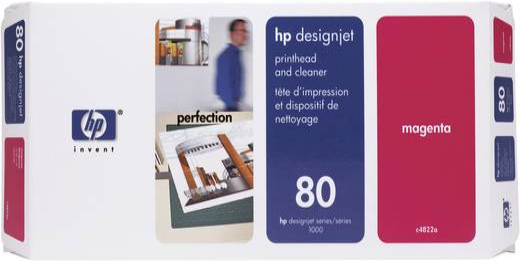 HP Druckkopf 80 Original Magenta C4822A