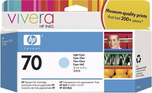 HP Tintenpatrone 70 Hell Cyan C9390A