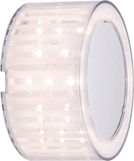 LED-Wandleuchte 2.5 W Warm-Weiß Paulmann DecoBeam 70291 Chrom (matt), Transparent, Weiß (matt)
