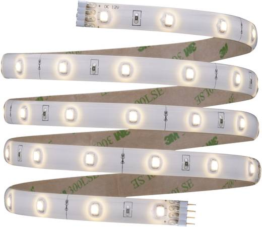 LED-Streifen-Komplettset mit Stecker 12 V 150 cm Warm-Weiß Paulmann YourLED 70317