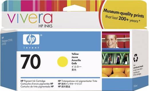 HP Tinte 70 Original Gelb C9454A