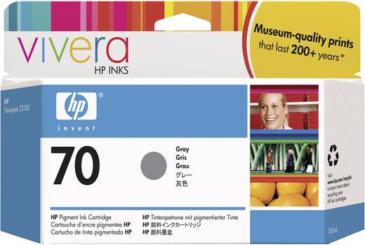 HP Tinte 70 Original Grau C9450A