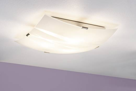 Deckenleuchte Energiesparlampe E27 180 W Paulmann Jenny 70378 Weiß