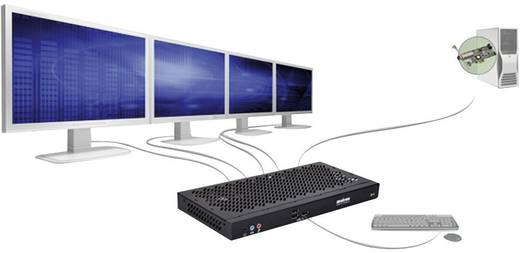 Workstation-Grafikkarte Matrox Extio F2408 DisplayPort