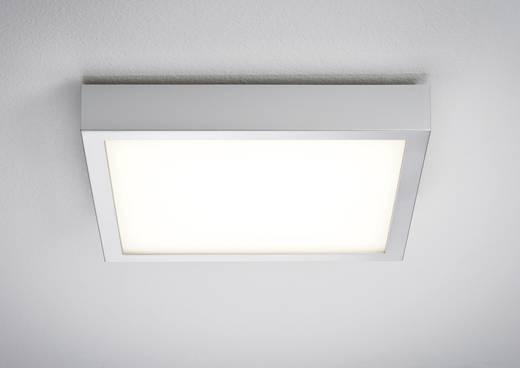 LED-Deckenleuchte Warm-Weiß Paulmann 70386 Chrom (matt), Weiß