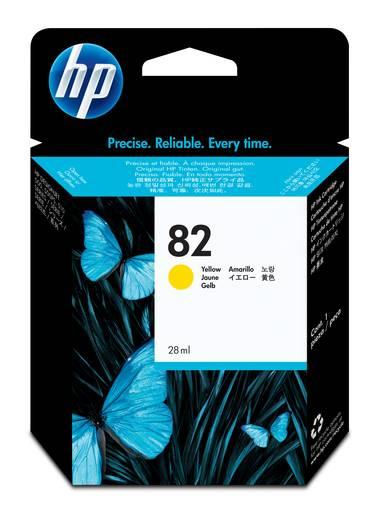 HP Tinte 82 Original Gelb CH568A