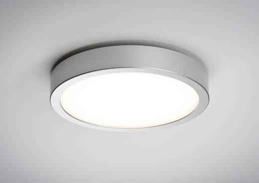 LED-Deckenleuchte Warm-Weiß Paulmann 70389 Chrom (matt), Weiß