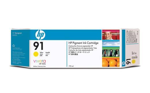 HP Tinte 91 Original Gelb C9469A