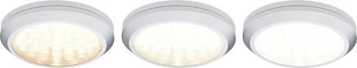 LED-Aufbauleuchte 5er Set 14 W Warm-Weiß Paulmann 93545 Micro Line Chrom (matt)