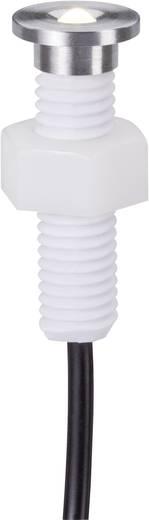 LED-Außeneinbauleuchte-Erweiterungsset Ergänzungs-Set 0.8 W Warm-Weiß Paulmann 93759 Satin, Chrom