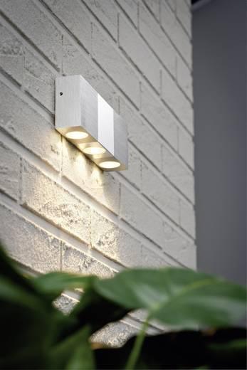 LED-Außenwandleuchte 3 W Warm-Weiß Paulmann Special Line Trendy 93763 Aluminium (gebürstet), Chrom