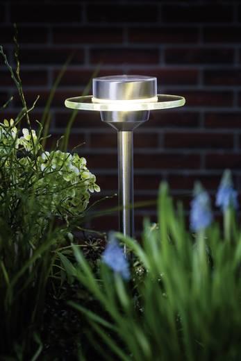 Solar-Gartenleuchte 0.2 W Warm-Weiß Paulmann 93764 Ufo Edelstahl, Klar