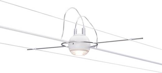 Seil-Komplettsystem LED fest eingebaut 20 W LED Paulmann Ball 94098 Weiß