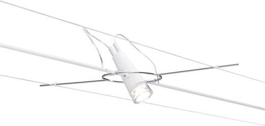 Seil-Komplettsystem LED fest eingebaut 12 W LED Paulmann Drum 94099 Weiß