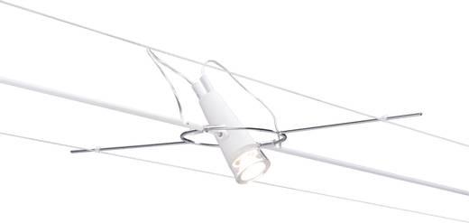 Hochvolt-Seilsystem-Leuchte AirLED LED fest eingebaut 3 W LED Paulmann Drum Weiß