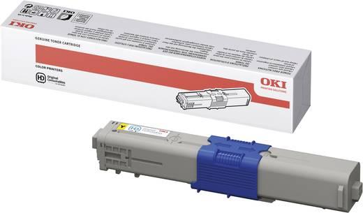 OKI Toner C330 C331 C510 C511 C530 C531 MC351 MC352 MC361 MC362 MC561 MC562 44469704 Original Gelb 2000 Seiten