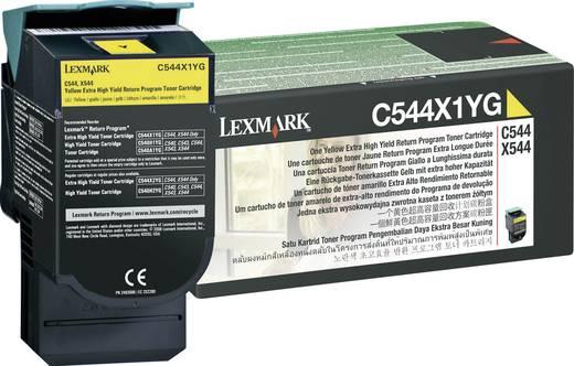 Lexmark Toner C544X1 C544X1YG Original Gelb 4000 Seiten