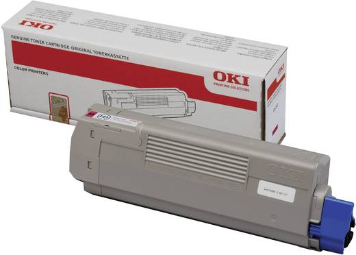 OKI Toner C610 44315307 Original Cyan 6000 Seiten