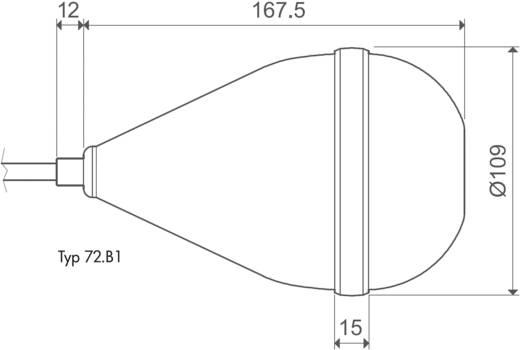 Schwimmer-Schaltsensor für Überwachungsrelais 1 Wechsler 1 St. Finder 72.B1.0.000.1000
