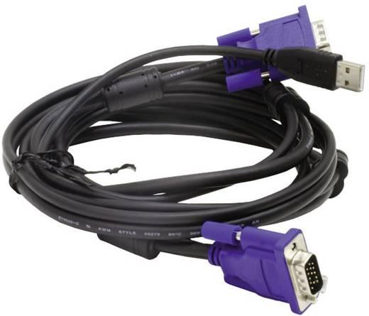 KVM Anschlusskabel [1x VGA-Stecker, USB 2.0 Stecker A - 1x VGA-Stecker, USB 2.0 Stecker B] 1.80 m Schwarz D-Link