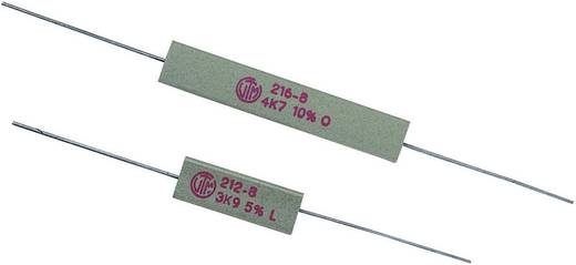 Hochlast-Widerstand 27 Ω axial bedrahtet 5 W 10 % VitrOhm KH208-810B27R 1 St.