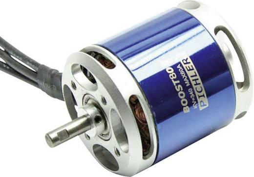 Pichler Boost 80 kV (U/min pro Volt): 340
